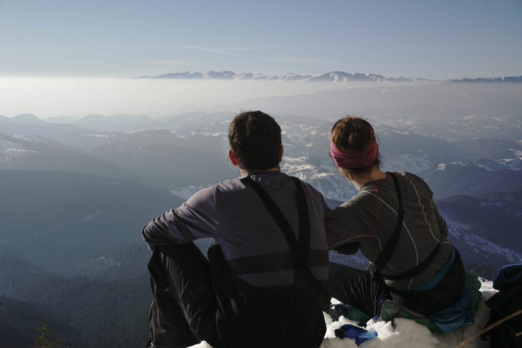 Best view spot in Bucegi Mountains