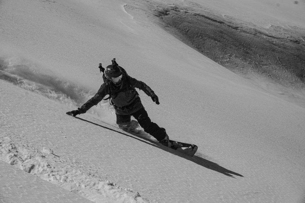 Georgia mountains powder snow splitboarding snowboarding ski rider travel tour
