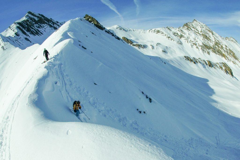 Mount Dedaena Georgia Gudauri ski splitboarding