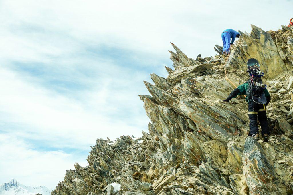 Gudauri mountains rope access